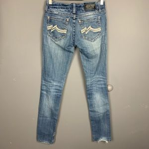 Miss me signature skinny jeans sz 28